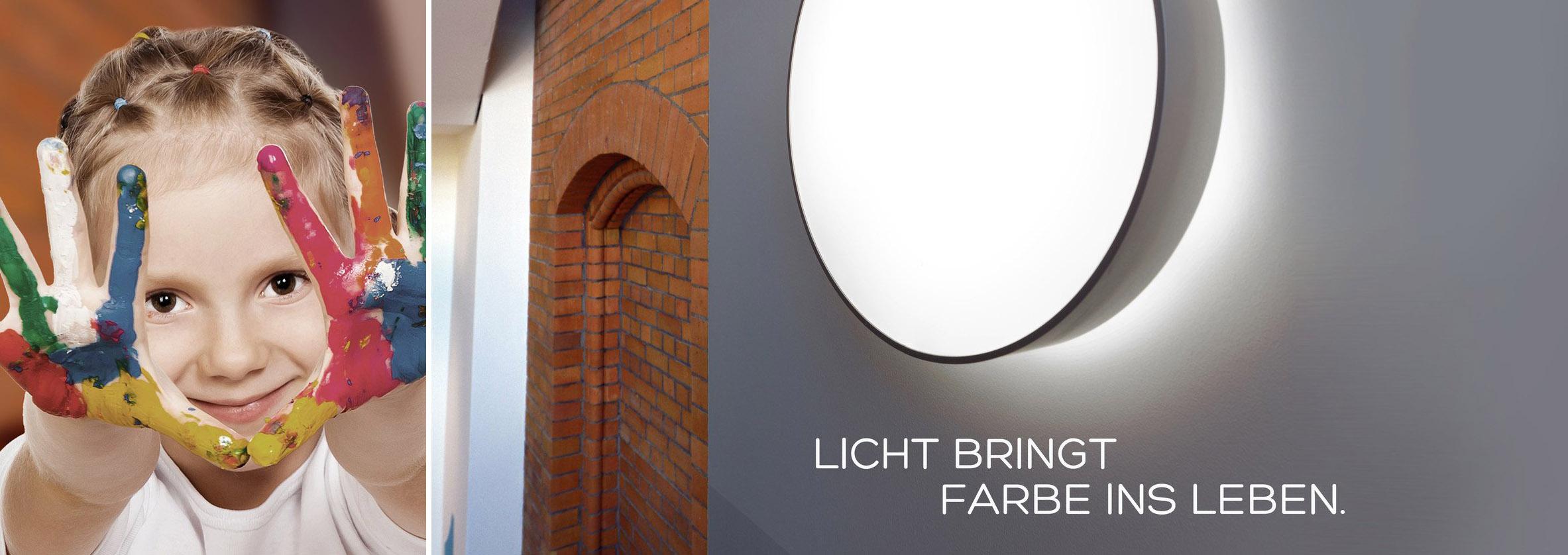 Licht bringt Farbe ins Leben - Saro-lux