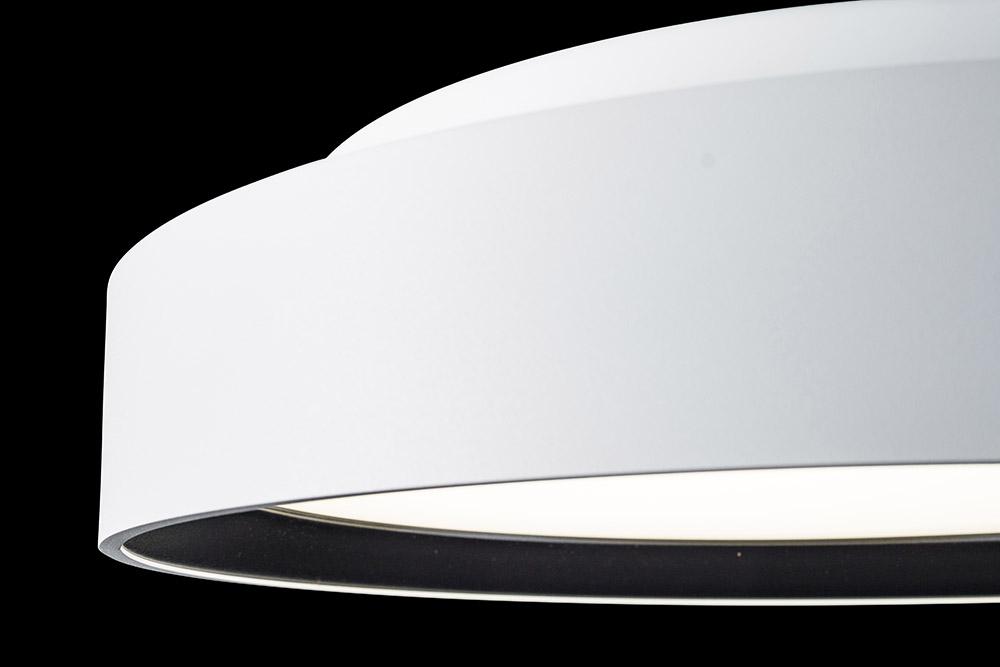 Pare 1465 bicolor weiß-schwarz - Detail