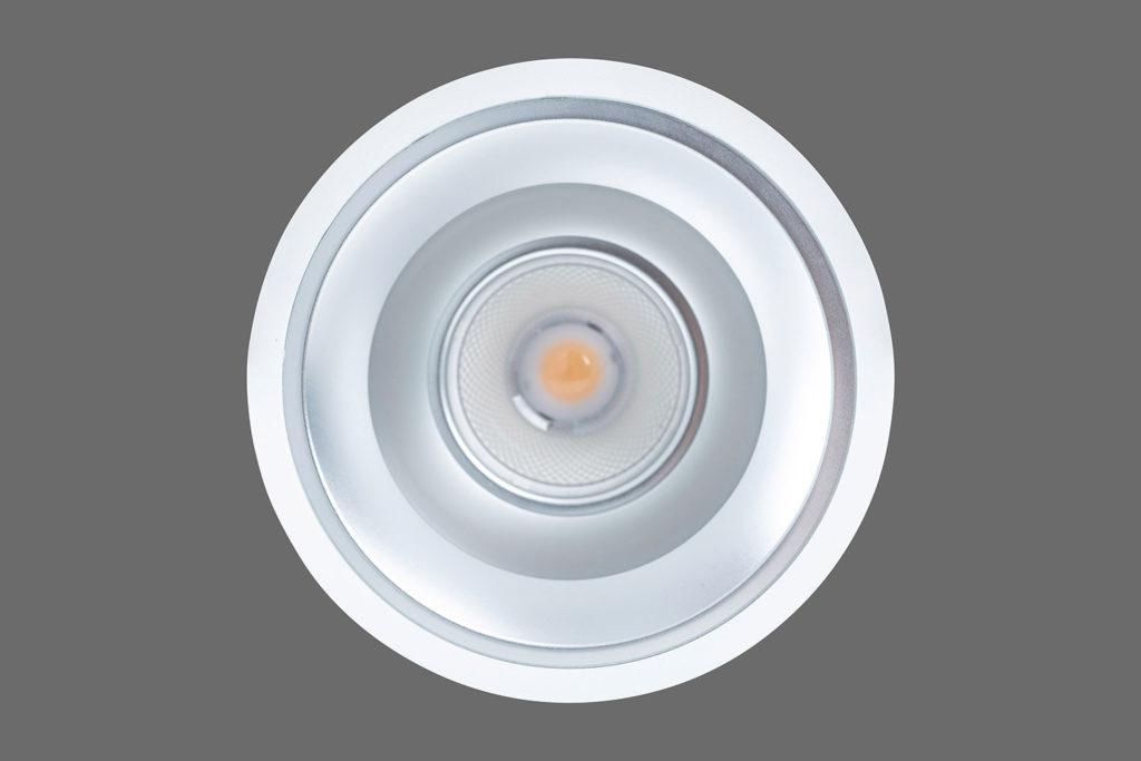 Unio 615 LED Einbau-Downlight von unten