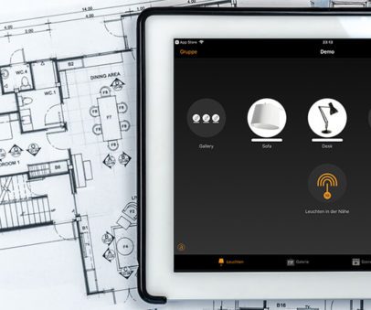 Erfahren Sie mehr über die Bluetooth-Lichtsteuerung bei Saro-lux!