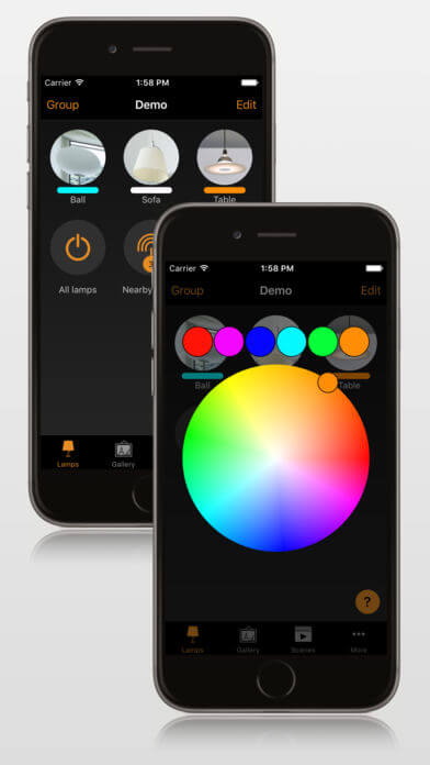 Bluetooth Steuerung - Human Centric Lighting